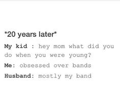 20 years later... I will marry Harry Styles even tho he might be gay