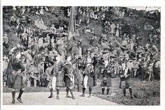 Highland dancing at the Strathardle Gathering