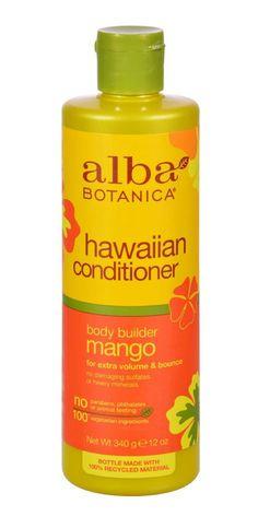 Alba Botanica Hawaiian Hair Conditioner Mango Moisturizing - 12 Fl Oz