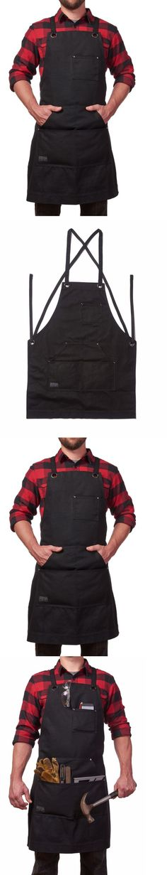 Aprons 175628: Heavy Duty 16 Oz Waxed Canvas Work Apron Tool Pockets Water Resistant Durable -> BUY IT NOW ONLY: $44.76 on eBay!