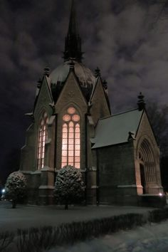Juselius Mausoleum, Pori, Finland - Pori, my hometown :) Ur Beautiful, Beautiful Places, Western Coast, Winter Scenery, Place Of Worship, Helsinki, Winter Time, Places To See, Norway
