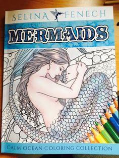martaj_art: Kolorowanki dla dorosłych Mermaids