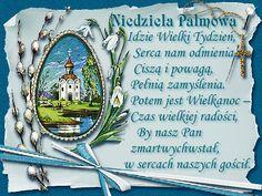 Brokatowa kartka z życzeniami na niedzielę palmową - Życzenia Na Niedzielę Palmową   GifyAgusi.pl St John Paul Ii, Decorative Plates, Two By Two, Frame, Texts, Easter Activities, Picture Frame, Frames, Captions