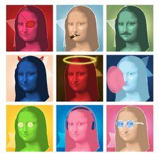 Mona Lisa by Snowy