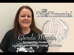 Meet Glenda from La' James International College Fort Dodge! Glenda shares some of her LJIC experiences in today's #TuesTimonial! #TestimonialTuesday