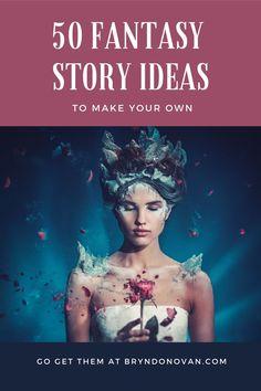 Versatile fantasy plot ideas...and fantasy writing prompts...to stir your imagination. #dark fantasy story ideas #fantasy plot generator Writing Promps, English Writing Skills, Book Writing Tips, Fiction Writing, Writing Quotes, Creative Writing, Writing Ideas, Writing Fantasy, Fantasy Story