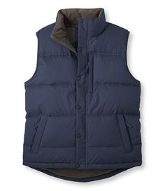 Goose Down Vest: Vests | Free Shipping at L.L.Bean.  $69.00
