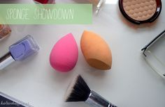 Sponge Showdown realTechniques Miracle Complexion Sponge vs. Ebelin Sponge