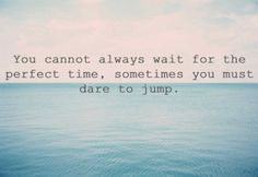 dare to jump #inspire