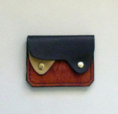 Earth Colors  Leather  Wallet / Coin Purse by ExpressionsInLeather, $14.00