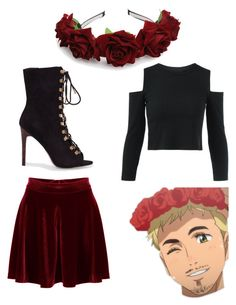 """""""Christophe Giacometti Vibes✨"""" by kelly-mesenbrink on Polyvore featuring WithChic"""