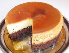 Crema de zahar ars cu blat de ciocolata Romanian Desserts, Romanian Food, Flan, Cake Recipes, Dessert Recipes, Diy Food, Sweet Treats, Cheesecake, Deserts