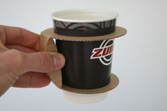 Paper Cup Holder (Concept) | Packaging of the World: Creative Package Design Archive and Gallery