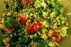Couscous-Rucola Salat, ein tolles Rezept aus der Kategorie Snacks und kleine Gerichte. Bewertungen: 5. Durchschnitt: Ø 3,6.