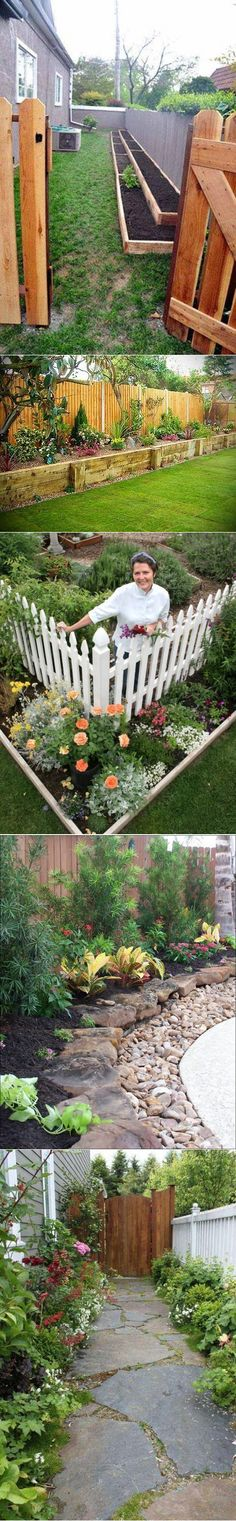 Cool idea for raised bed