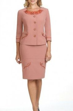 Suits For Women, Women Wear, Corporate Wear, Skirt And Top Set, Work Fashion, Fashion Design, Professional Outfits, African Attire, Work Attire