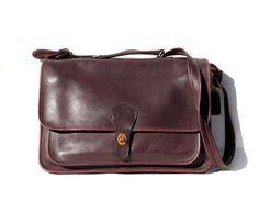 Coach Burgundy Briefcase...for work!