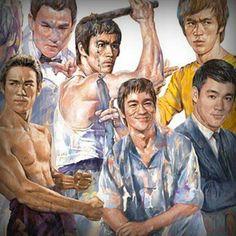 Bruce Lee artwork