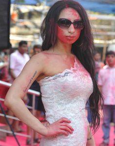 Playboy Girl Shanti Dynamite visits MIG Cricket Club