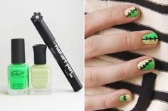 nails for halloween | Here is six diy ways to decorate your nails for halloween.These are so ...
