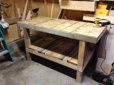 A pallet is saved, a workbench is born - Woodworking Talk ...