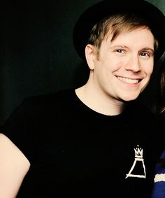 This is a man who inspires us to follow our dreams. This is a man who worked his way from the bottom to be where he is today. This is a man who tells us to love ourselves because we are beautiful. This is Patrick Stump
