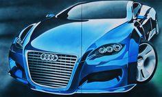 Audi (airbrush)