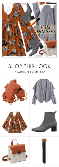 """Fall Fashion: Dresses"" by duma-duma ❤ liked on Polyvore featuring Bobbi Brown Cosmetics, Chanel, NYX and falldresses"