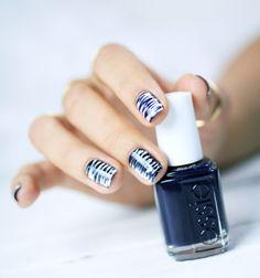 Smudged Stripes