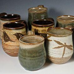 Ann's Pottery | Other Pottery | Bead Pots