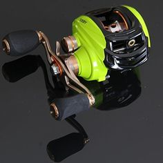 Entsport Saltwater Casting Reel Low Profile Baitcasting Fishing Reel 10+1 Ball Bearings Baitcast Reel Right/Left Handed Baitcaster Fishing Reel Baitcaster (Right Handed)