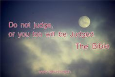 Do not Judge, or you too will be Judged. ~Bible #ShriPrashant #Advait #Bible #action #decision #intelligence #individual #wisdom Read at:- prashantadvait.com Watch at:- www.youtube.com/c/ShriPrashant Website:-www.advait.org.in Facebook:- www.facebook.com/prashant.advait LinkedIn:- www.linkedin.com/in/prashantadvait Twitter:- https://twitter.com/Prashant_Advait