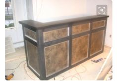 Diy reception desk great step by step pictures plans httpwww diy reception desk but white solutioingenieria Images