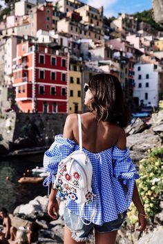 VivaLuxury - Fashion Blog by Annabelle Fleur: THE COLORS OF RIOMAGGIORE