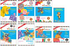 Whistlefritz's The Educator's Collection, Spanish, teaches children Spanish via DVDs, CDs, and print materials.