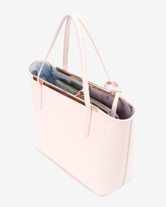 Crosshatch leather shopper - Nude Pink | Bags | Ted Baker UK - ladies bags, pouch bag online, latest fashion women's bags *sponsored https://www.pinterest.com/bags_bag/ https://www.pinterest.com/explore/bag/ https://www.pinterest.com/bags_bag/messenger-bags-for-women/ http://shop.mango.com/US/women/accessories/bags