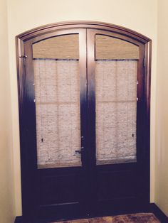 Custom Made Blinds For Arched Doors Decorating