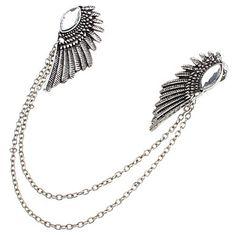 OLL Diamond Wing Collar Necklace – DKK kr. 19