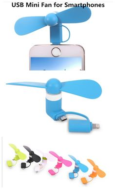 enjoy the wind by the fan of the smartphone,  get it ,http://www.gearbest.com/iphone-cables-adapters/pp_357223.html?lkid=10379672