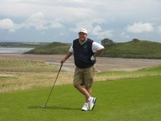 Dave on 12th tee Tralee