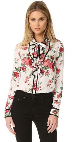 re:named Floral Neck