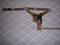 Han Solo Holster build. Photo Tutorial.