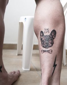 doggy tattoo toulis tattoo studio
