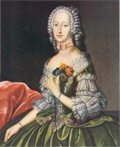 Caraco jacket, Belgian 1716-Princess-Philippina-Charlotte