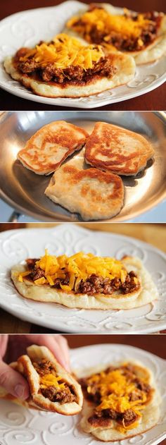 Cheeseburger Flatbread Melts.