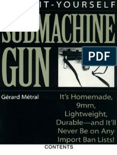 AR 15 Lower Receiver Step by Step Paladin Press, Mac 11, Lower Receiver, Homemade Weapons, Submachine Gun, Home Workshop, Books To Read Online, Tool Steel, Firearms