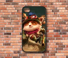 Teemo League of Legends iPhone 4/4s/5 Samsung by CaseByAngel, $14.99