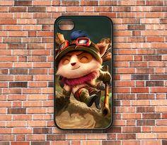 Teemo League of Legends iPhone 4/4s/5 Samsung by CaseByAngel, $14.99