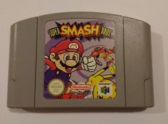 Super Smash Bros Video Game for Nintendo 64 N64 TESTED