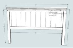 King Size Headboard & Footboard Plans